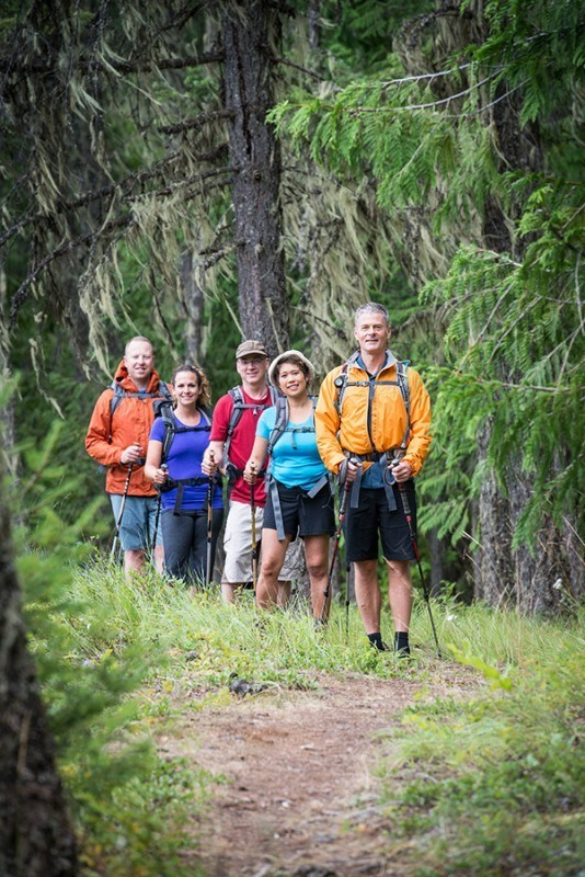 Small Hiking retreat Groups