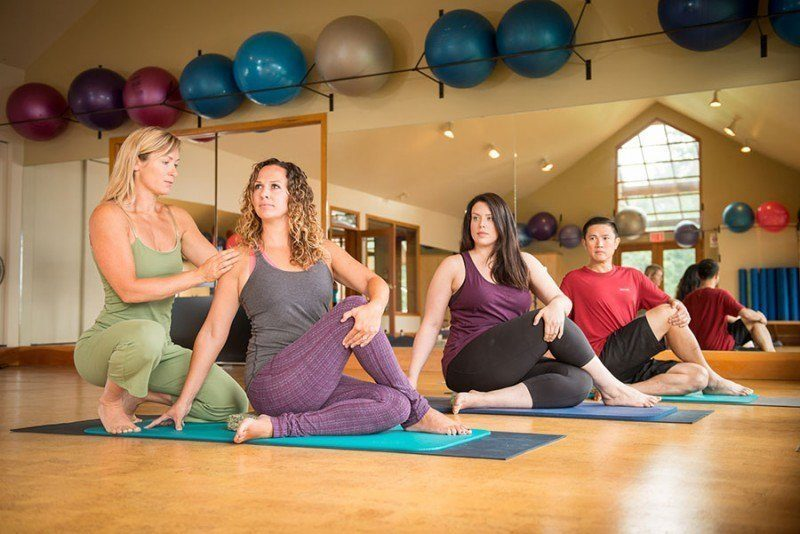 fitness vacation program starts with yoga