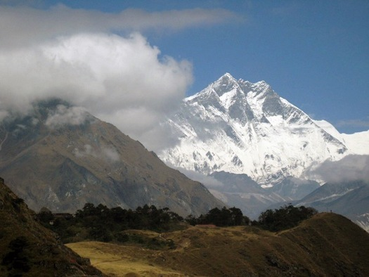 Everest From Khumjung