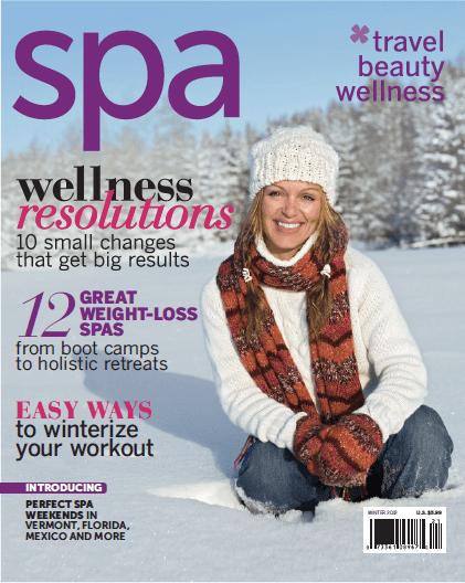 Spa Magazine Cover