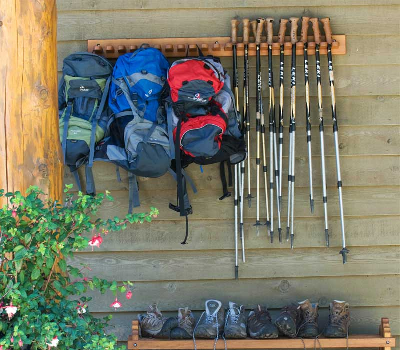 Hiking at Mountain Trek Lodge & Spa