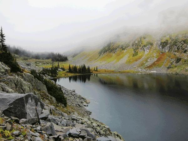 Cynthia Dial Alpine Lake