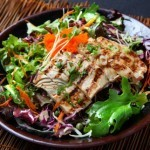 Chicken Salad with Kale and Cabbage Recipe