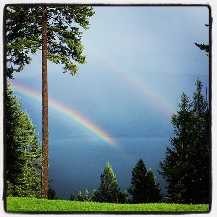 Sept 2013_double rainbow_Lake Kootenay