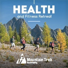 Book Your Fitness Retreat & Health Spa Hiking Vacation