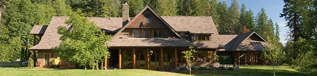 the Mountain Trek lodge in Nelson BC