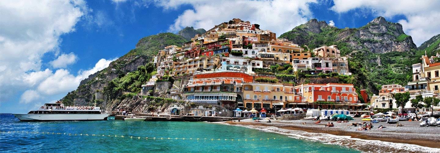 Positano On Amalfi Coast