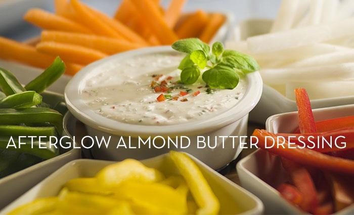 Afterglow Almond Butter Dressing Recipe