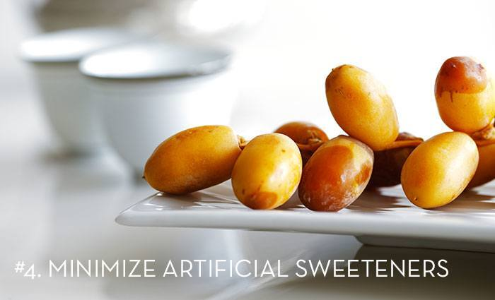 Minimize Artifical Sweeteners