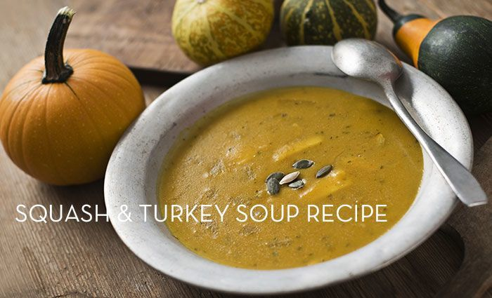 Squash and Turkey Soup Recipe