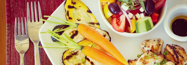 Be Healthy - Fresh, Organic Spa Cuisine.