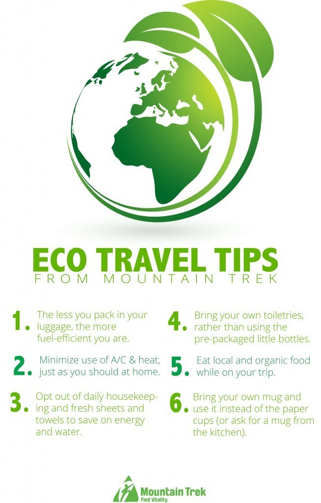 Mountain Trek Eco Travel Tips