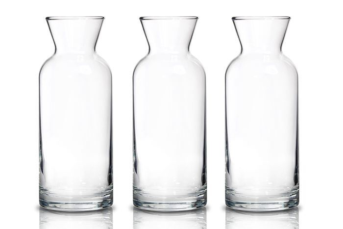 Three-glass-water-jugs
