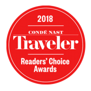 Conde Nast Readers Choice Award 2018