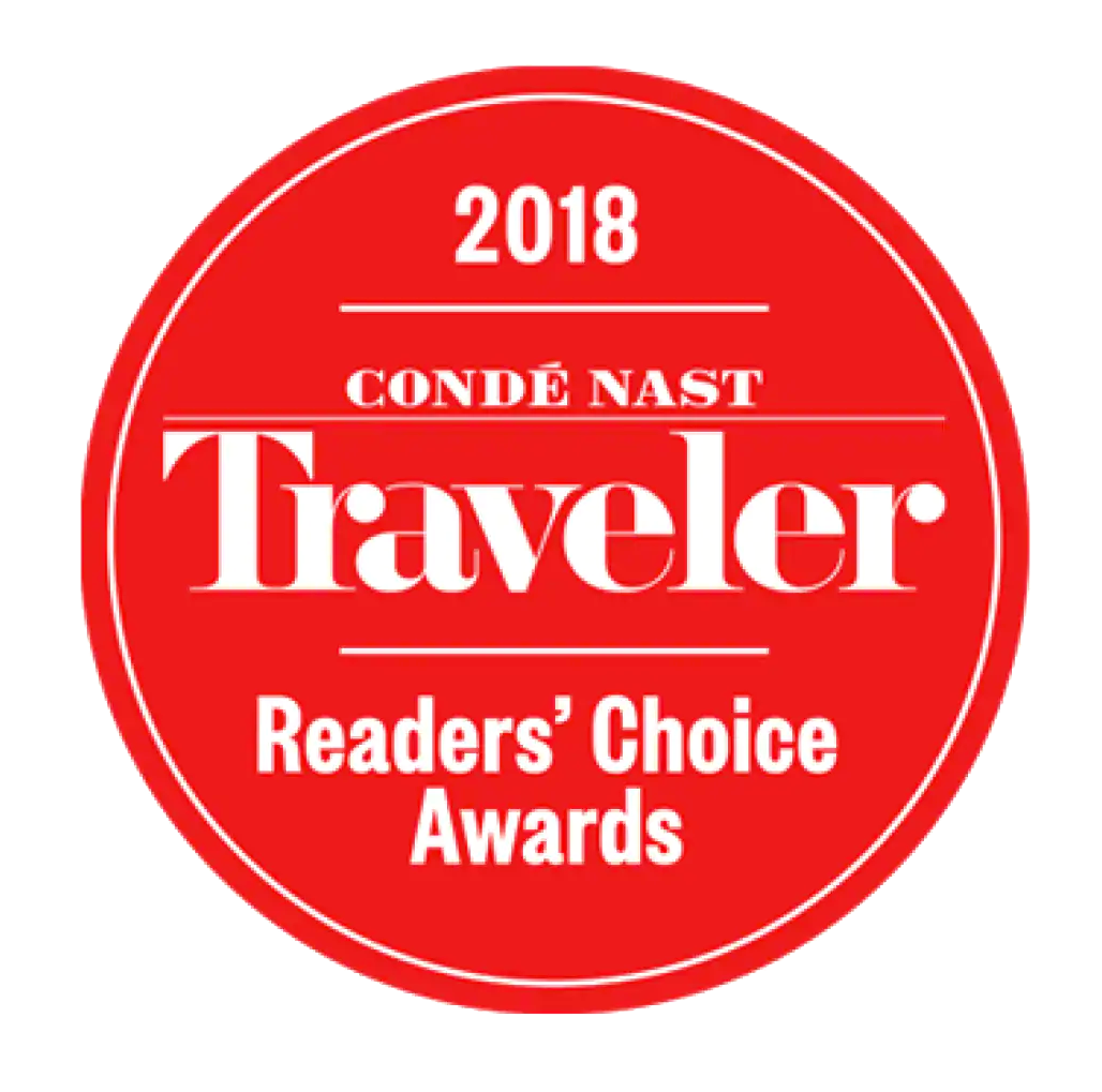 Conde Naste Reader's Choice Award 2018