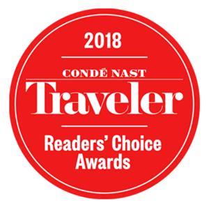 Conde Nast Readers Choice Award