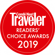 Conde Nast Readers Choice Award
