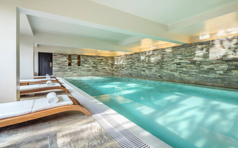 COMO Uma Paro Indoor Swimming Pool experienced on Mountain Trek Adventure Trek
