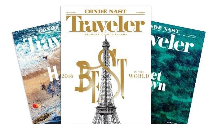 Conde Nast World's Best 2016