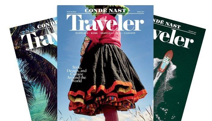 Conde Nast Travler Magazine