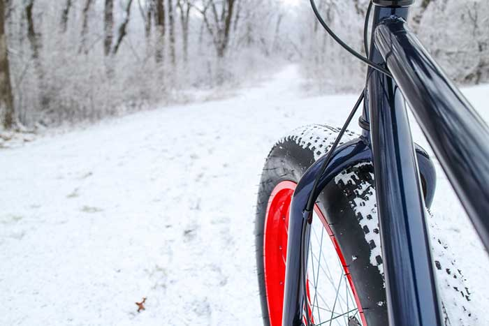 Fat Tire Biking in the Winter
