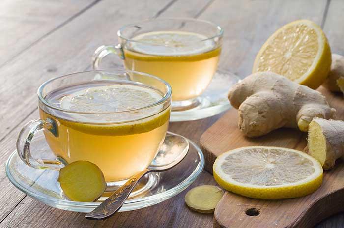 Ginger and Lemon Tonic
