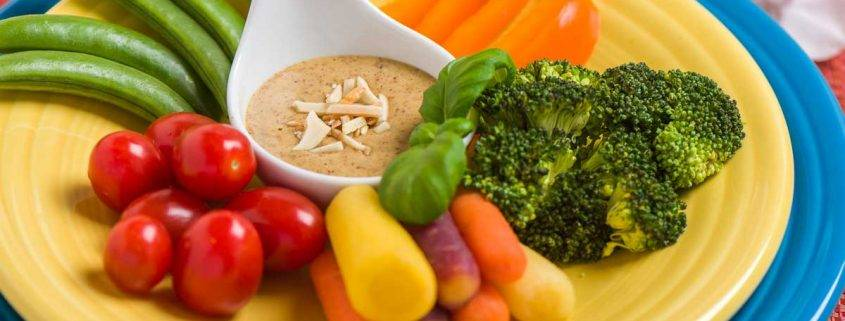 Golden Almond Butter Dip