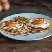 Healthy Huevos Rancheros Breakfast