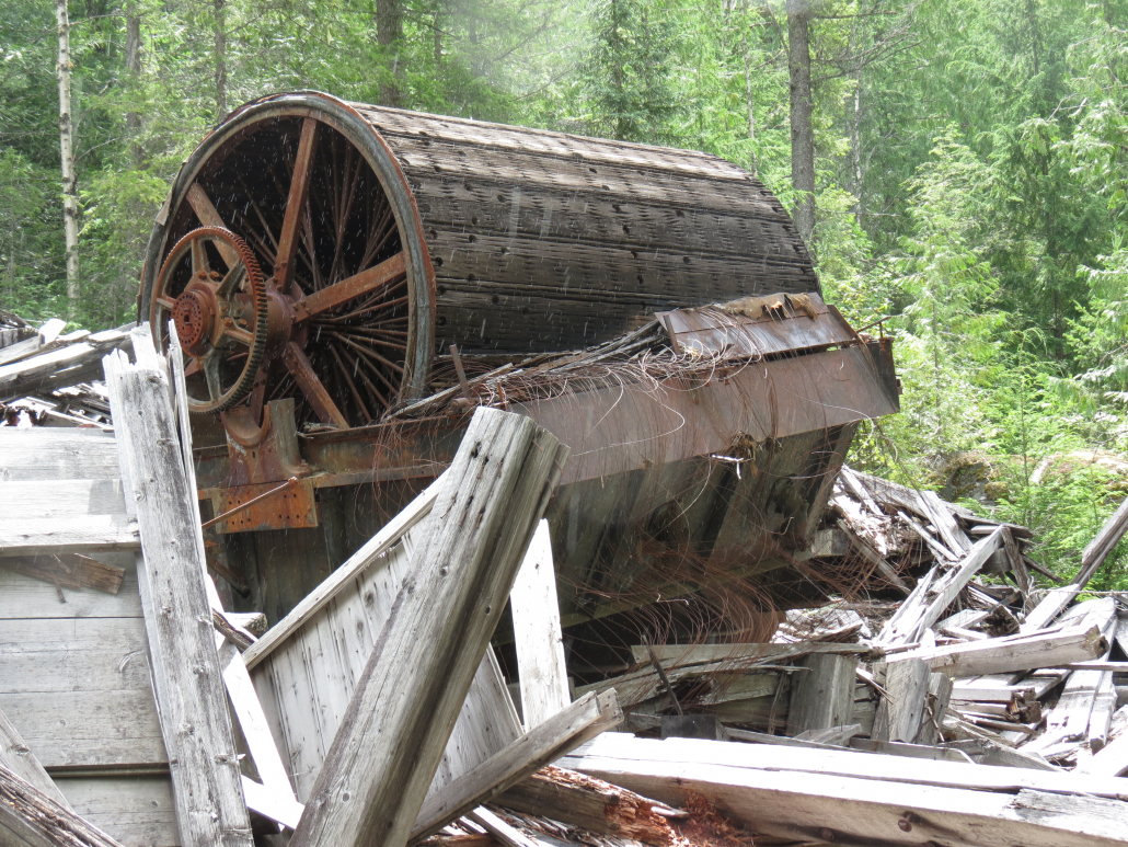 Galena Bay Abandoned Mining Site