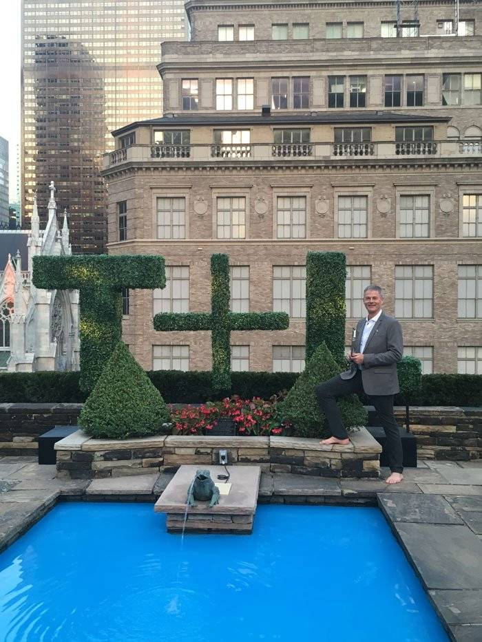 Kirkland Shave at the Travel + Leisure Awards in New York City