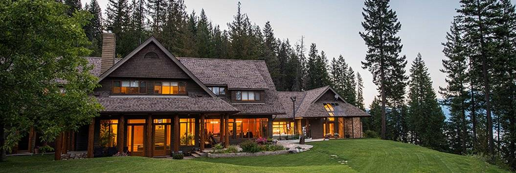 lodge at mountain trek in british columbia