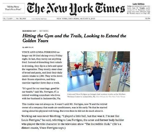 NY Times Mountain Trek Article