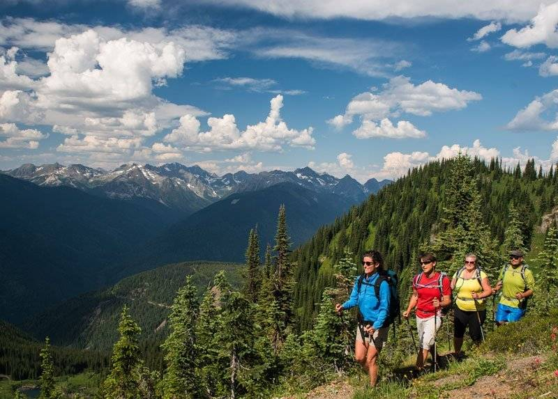 Nordic Fitness Trekking with Mountain Trek Fitness and Health Spa