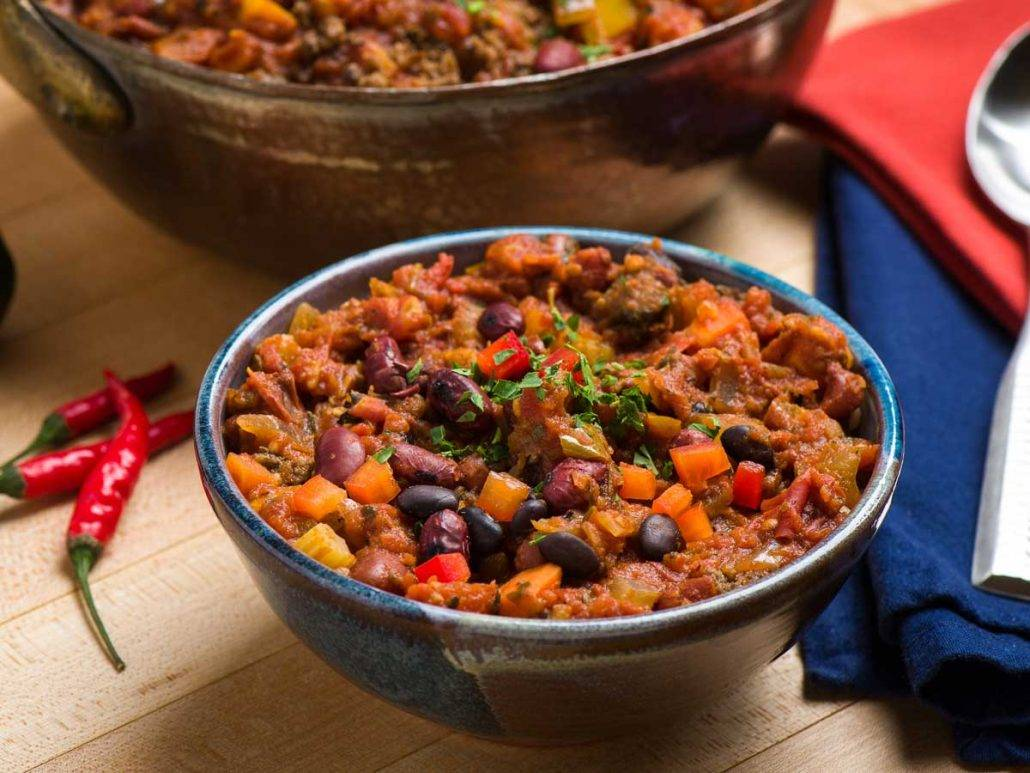 Pumpkin Chili with Organic Beef