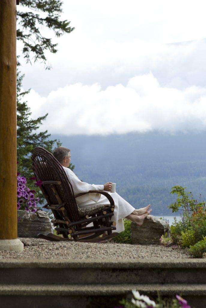 Relaxing at Mountain Trek Lodge & Spa