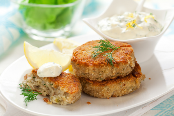 Salmon & Halibut Cakes