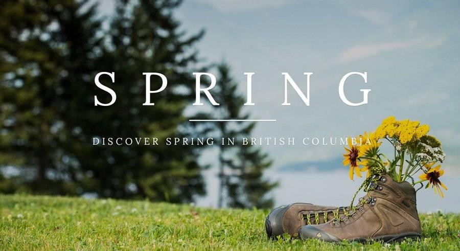 Spring in British Columbia