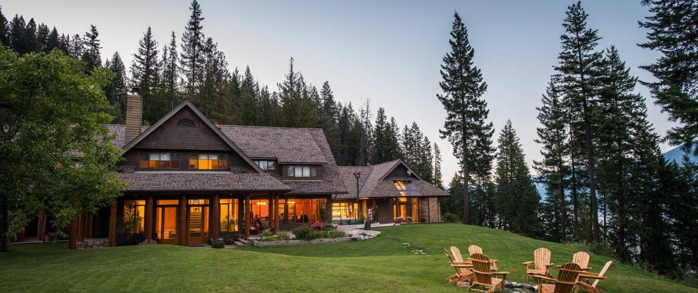 Sunset at the Mountain Trek Lodge & Spa