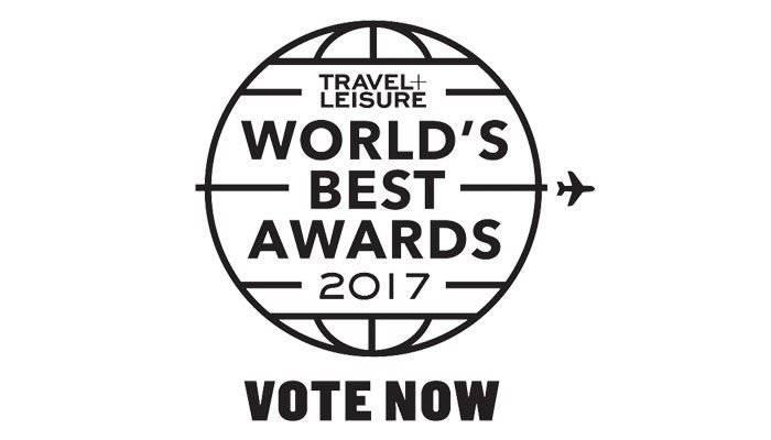 2017 Travel + Leisure World's Best Awards
