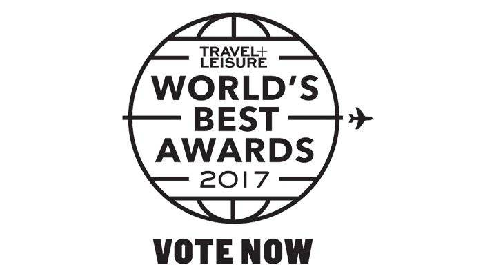 2017 Travel + Leisure World's Best Awards
