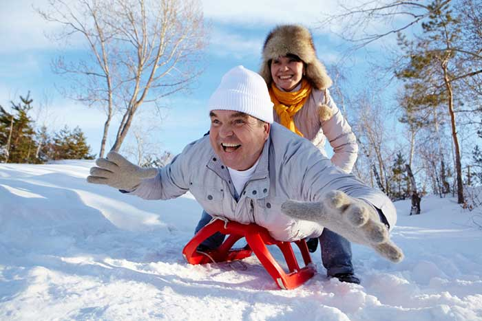 Tobogganing for Fitness