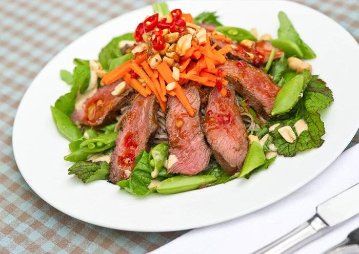 Vietnamese Salad with Steak Recipe