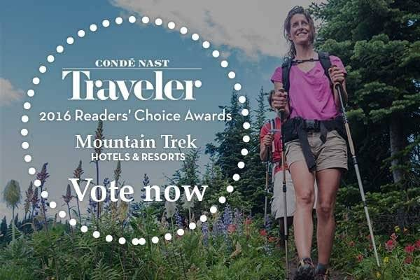 Mountain Trek Nominated For Condé Nast Traveler Awards