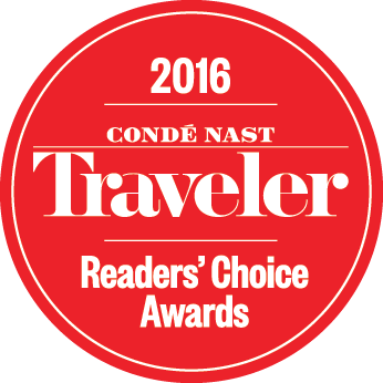 Conde Naste Travel's Choice Award