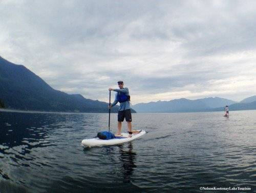 kootenay SUP mountain trek