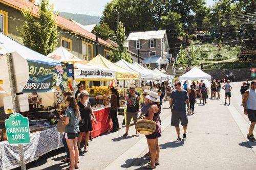 Farmer's Market in Nelson British Columbia