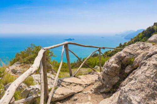 Path of the Gods is one of the best hiking trails on the Amalfi Coast, according to Mountain Trek